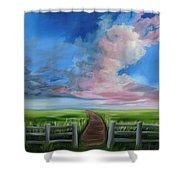 Heaven Bound Shower Curtain