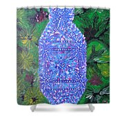 Heaven-earth Connection Shower Curtain