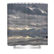 Heaven Meets Earth Shower Curtain