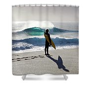 Heaven On A Stick. Shower Curtain