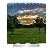 Heaven Sky Shower Curtain