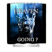 Heaven T Poster #1 Shower Curtain