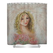 Heavenly Angel Shower Curtain