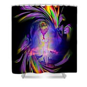 Heavenly Apparition Shower Curtain