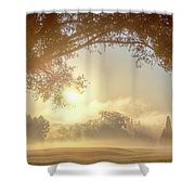 Heavenly Arch Sunrise Shower Curtain