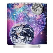 Heavenly Bodies Shower Curtain