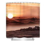 Heavenly City In The Sky Shower Curtain