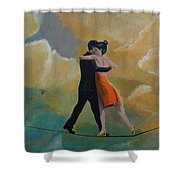Heavenly Dancers Shower Curtain