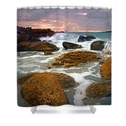Heavenly Dawning Shower Curtain