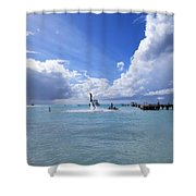 Heavenly Day Shower Curtain