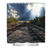 Heavenly Decision Shower Curtain