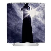 Heavenly Eclipse Shower Curtain
