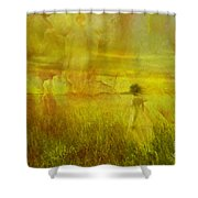 Heavenly Encounter Shower Curtain
