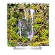 Heavenly Falls In Spring Shower Curtain