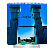 Heavenly Gates Shower Curtain