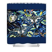 Heavenly Jewels Shower Curtain