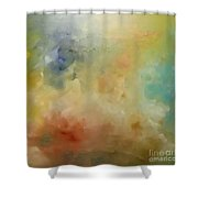Heavenly Shower Curtain by KR Moehr