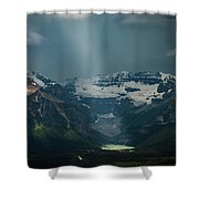 Heavenly Lake Louise Shower Curtain