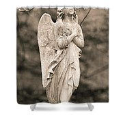 Heavenly Love Shower Curtain