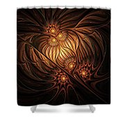 Heavenly Onion Shower Curtain