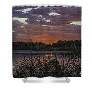 Heavenly Pink Shower Curtain