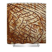 Heavenly Thoughts - Tile Shower Curtain