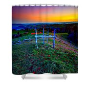 Heavenly Views Shower Curtain