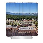 Heavenly Village Shower Curtain