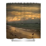 Heavenly  World  Shower Curtain