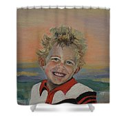 Heaven's Child Shower Curtain