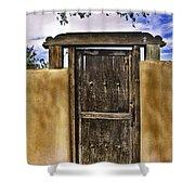 Heaven's Door Shower Curtain