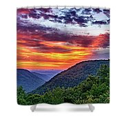 Heaven's Gate - West Virginia 2 Shower Curtain