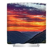 Heaven's Gate - West Virginia 3 Shower Curtain