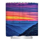 Heaven's Gate - West Virginia 6 Shower Curtain