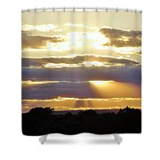 Heaven's Rays Shower Curtain