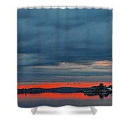 Heavy Cloud Cover  Shower Curtain