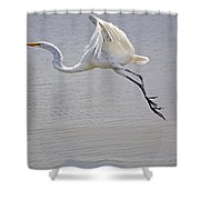 Heavy Flight Shower Curtain