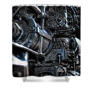 Heavy Piston Shower Curtain by Scott Wyatt