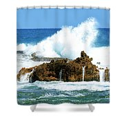 Heavy Seas Shower Curtain