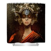 Hecate Crowned Shower Curtain