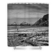Heceta Head Lighthouse Shower Curtain