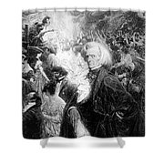 Hector Berlioz, French Composer Shower Curtain