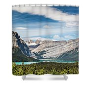 Hector Lake, Canadian Rockies Shower Curtain