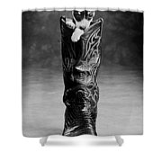 Heeler Shower Curtain