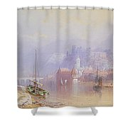 Heidelberg Shower Curtain by Thomas Miles Richardson