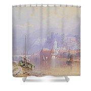 Heidelberg Shower Curtain by Thomas Miles Richardson