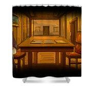 Heileen 1 Sail Away Shower Curtain