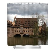 Heilig Geist Spital - Nuremberg Shower Curtain