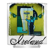 Heineken Athlone Ireland Shower Curtain