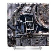 Heisler Steam Engine Shower Curtain